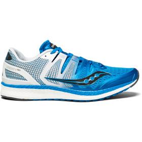 saucony Liberty ISO Hardloopschoenen Heren blauw/wit